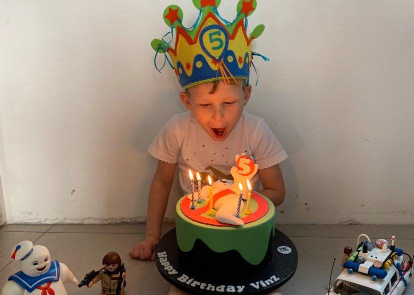 verjaardag vieren in lockdown: vinz