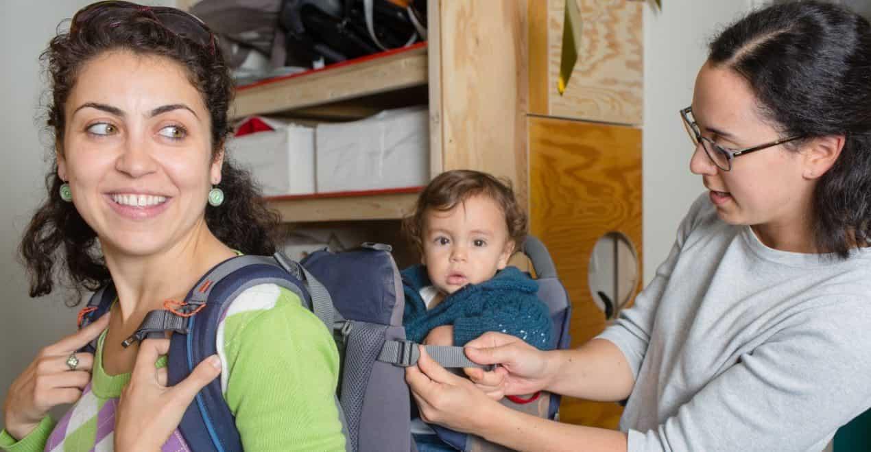 In de Babytheek kun je spullen lenen en uitproberen