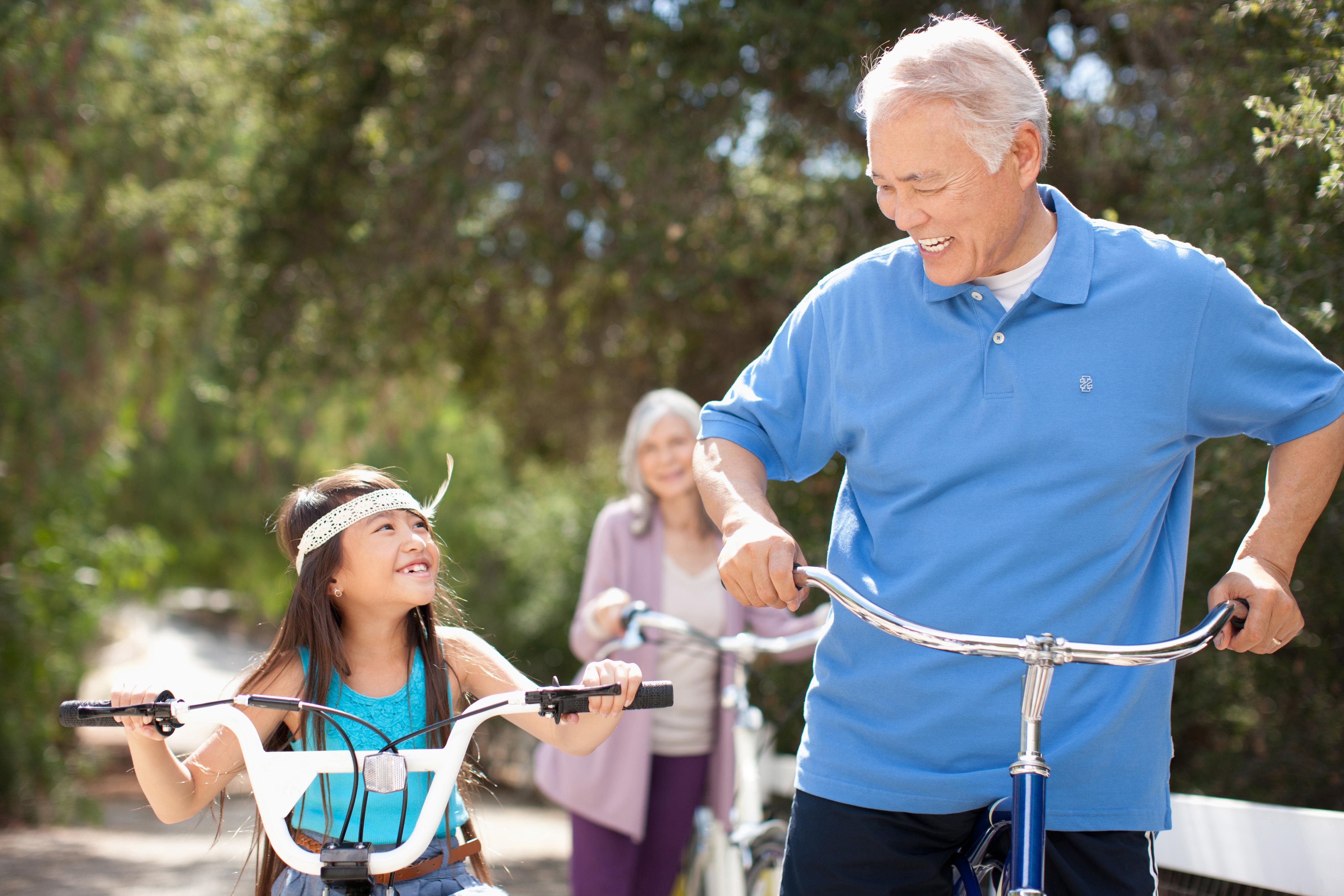 fietsen met een kleuter