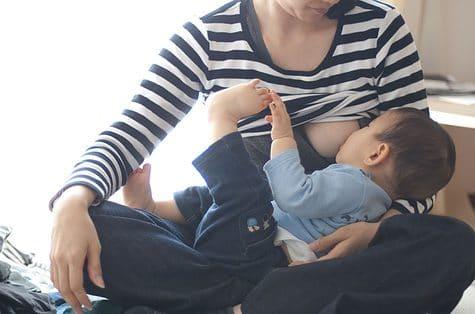 Borstvoeding geven na 6 maanden