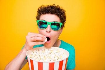 naar de cinema met tieners