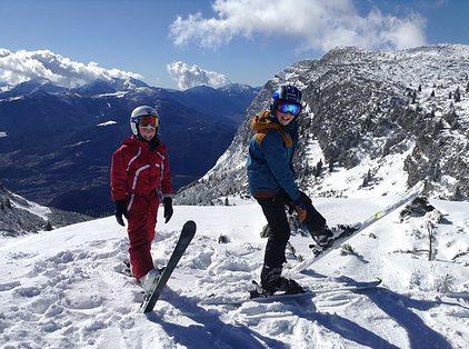 skiën met de kinderen, gezinsactiviteit, bewegen is gezond, gezinssport vlaanderen