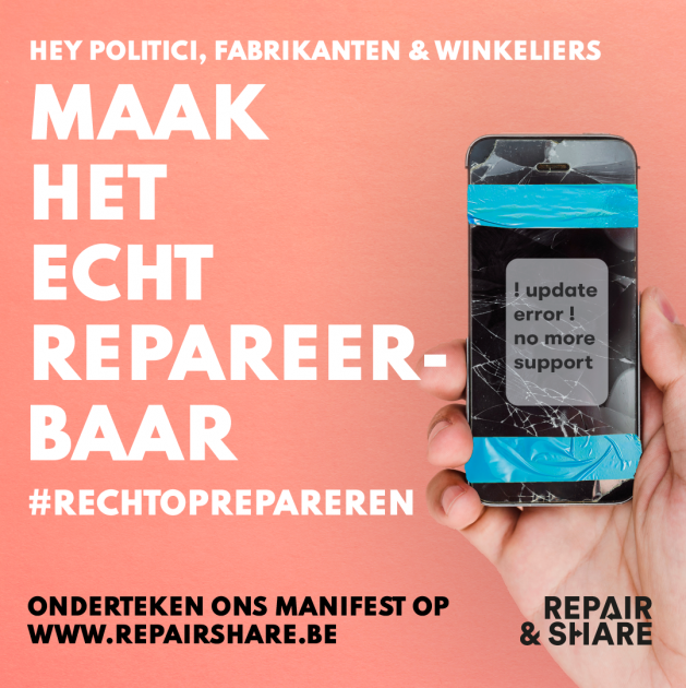 Recht op repareren: smartphone