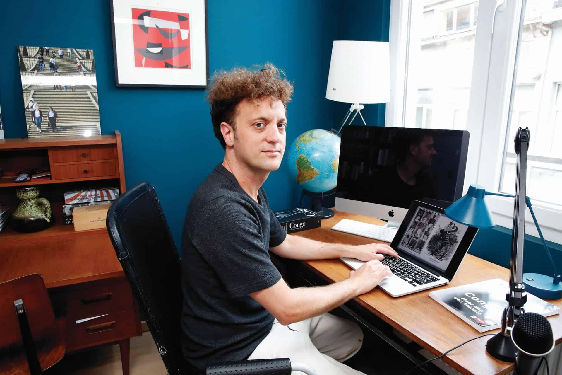 Jonas Goossenaerts maakt educatieve podcast Geschiedenis voor herbeginners