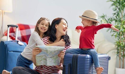 Op vakantie zonder vliegtuig