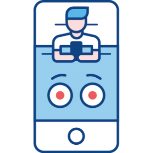 smartphone uit de slaapkamer