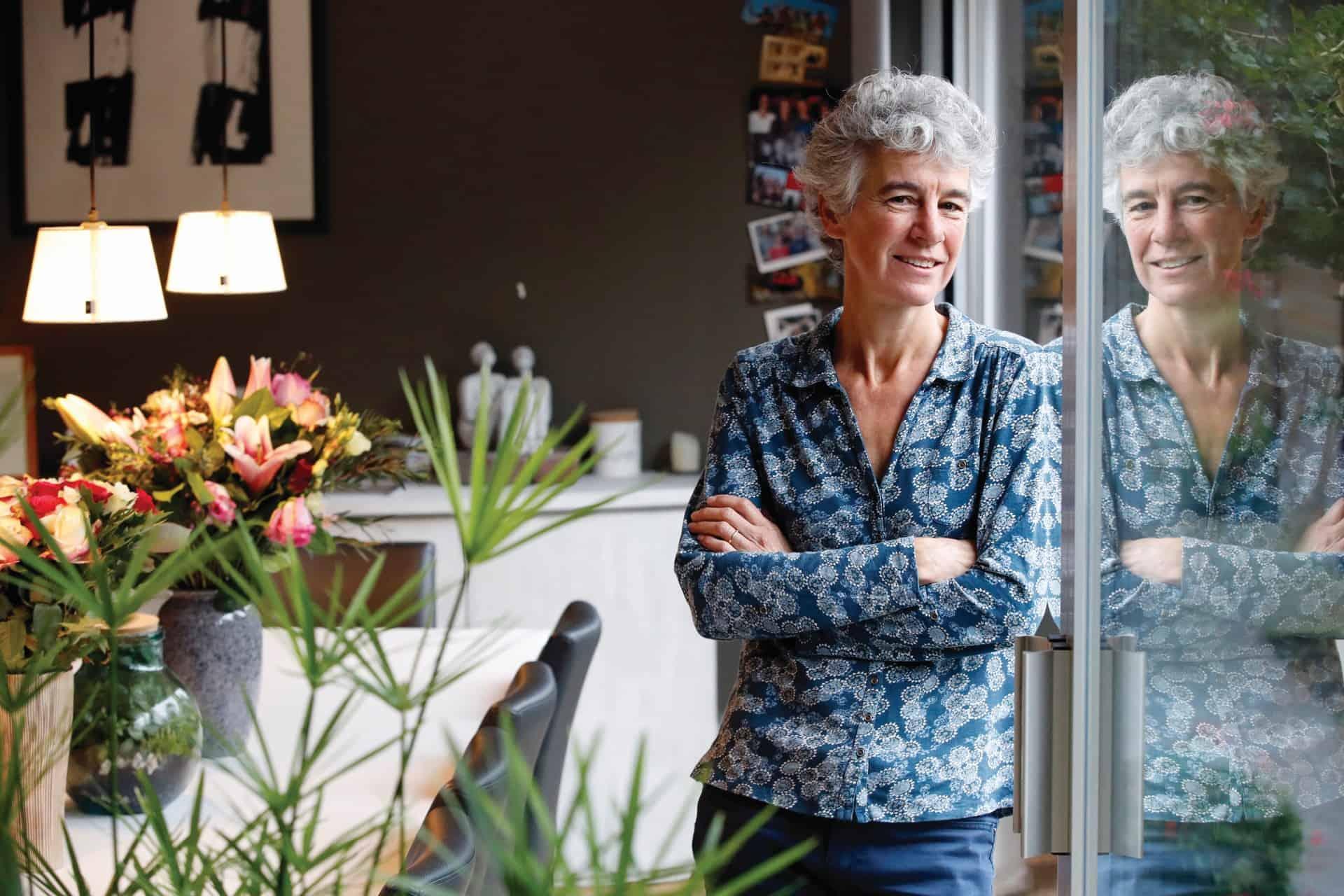 Hilde Ingels voert afscheidsgesprekken en zorgt voor troost bij nabestaanden