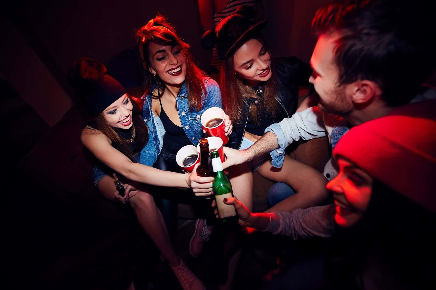 alcohol bij tieners