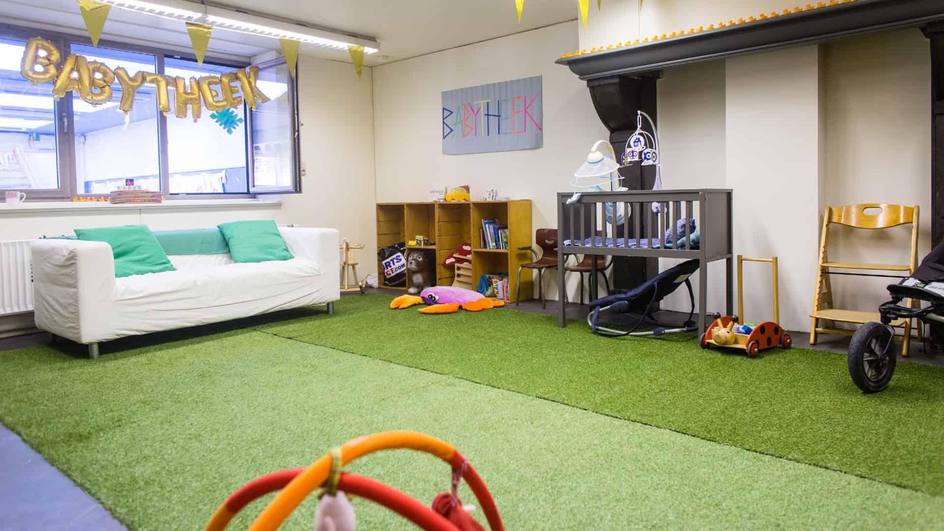 Babytheek - bibliotheek voor babyspullen
