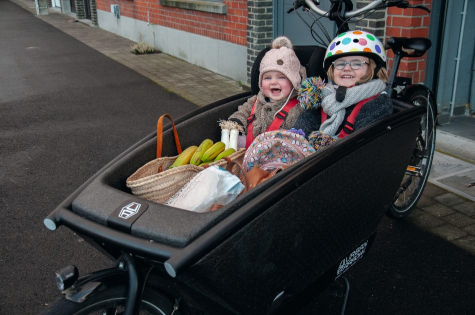 Katrijn, mama van 2: 'We kunnen de bakfiets niet meer missen'