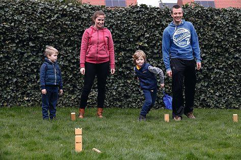 Het gezin van Ineke is altijd aan het bewegen: 'Voor onze jongens is alles een wedstrijdje'