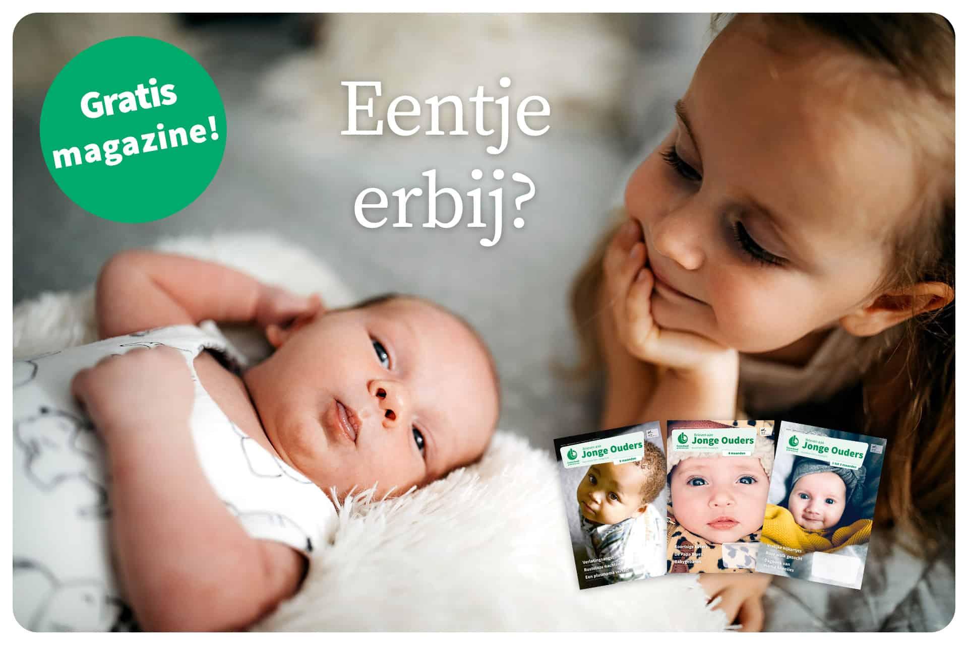 Kindje geboren? Gratis magazine Brieven aan Jonge Ouders én nieuwsbrief op maat van je baby
