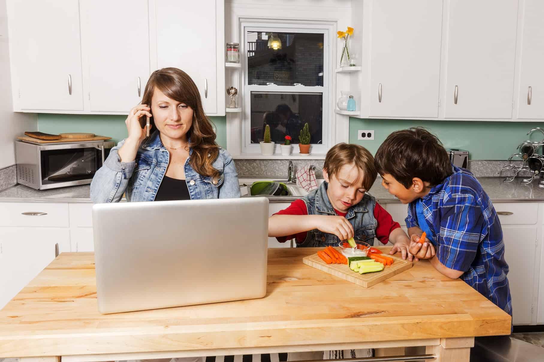 combinatie werk en gezin verbeteren