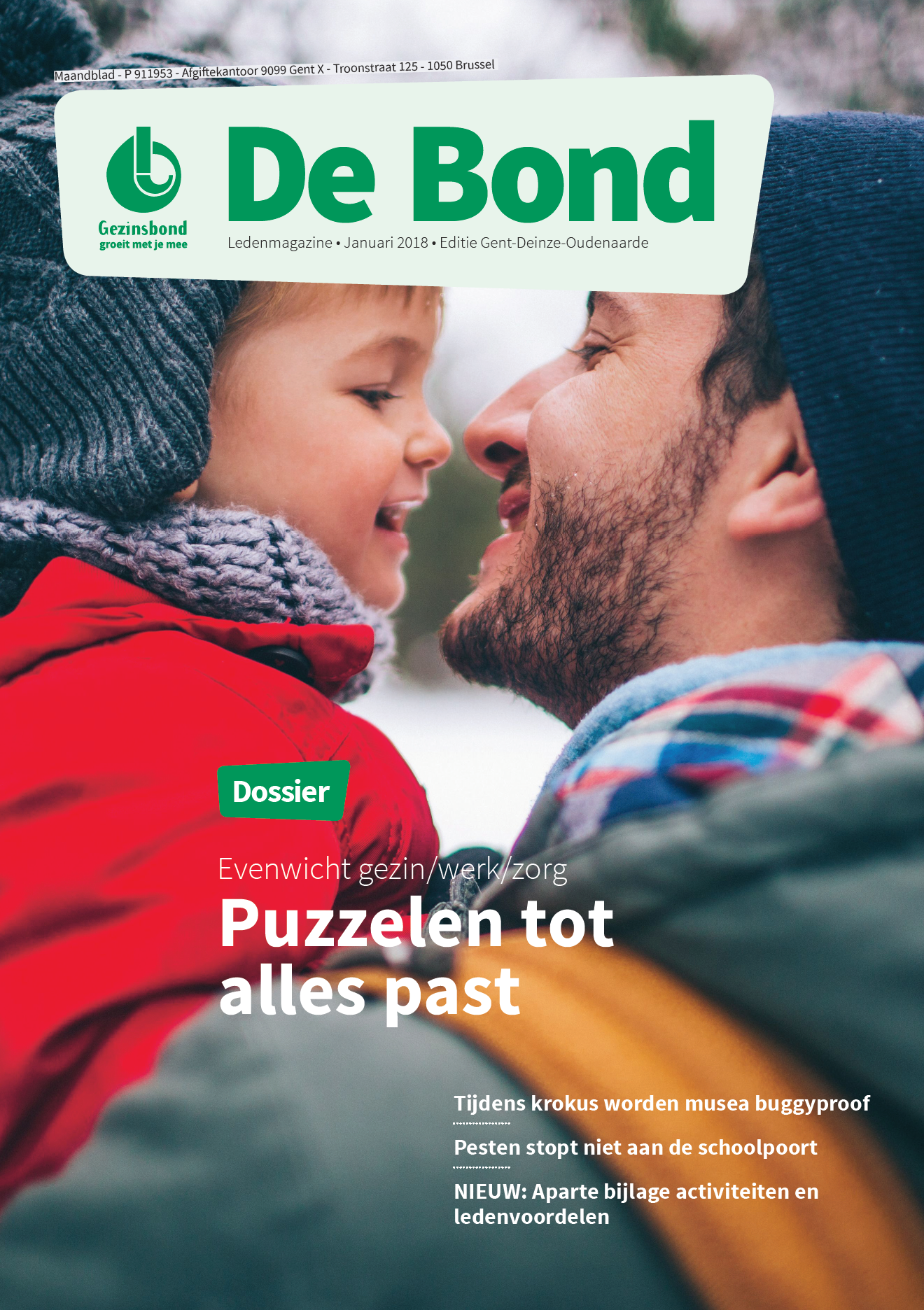 Ledenmagazine Gezinsbond