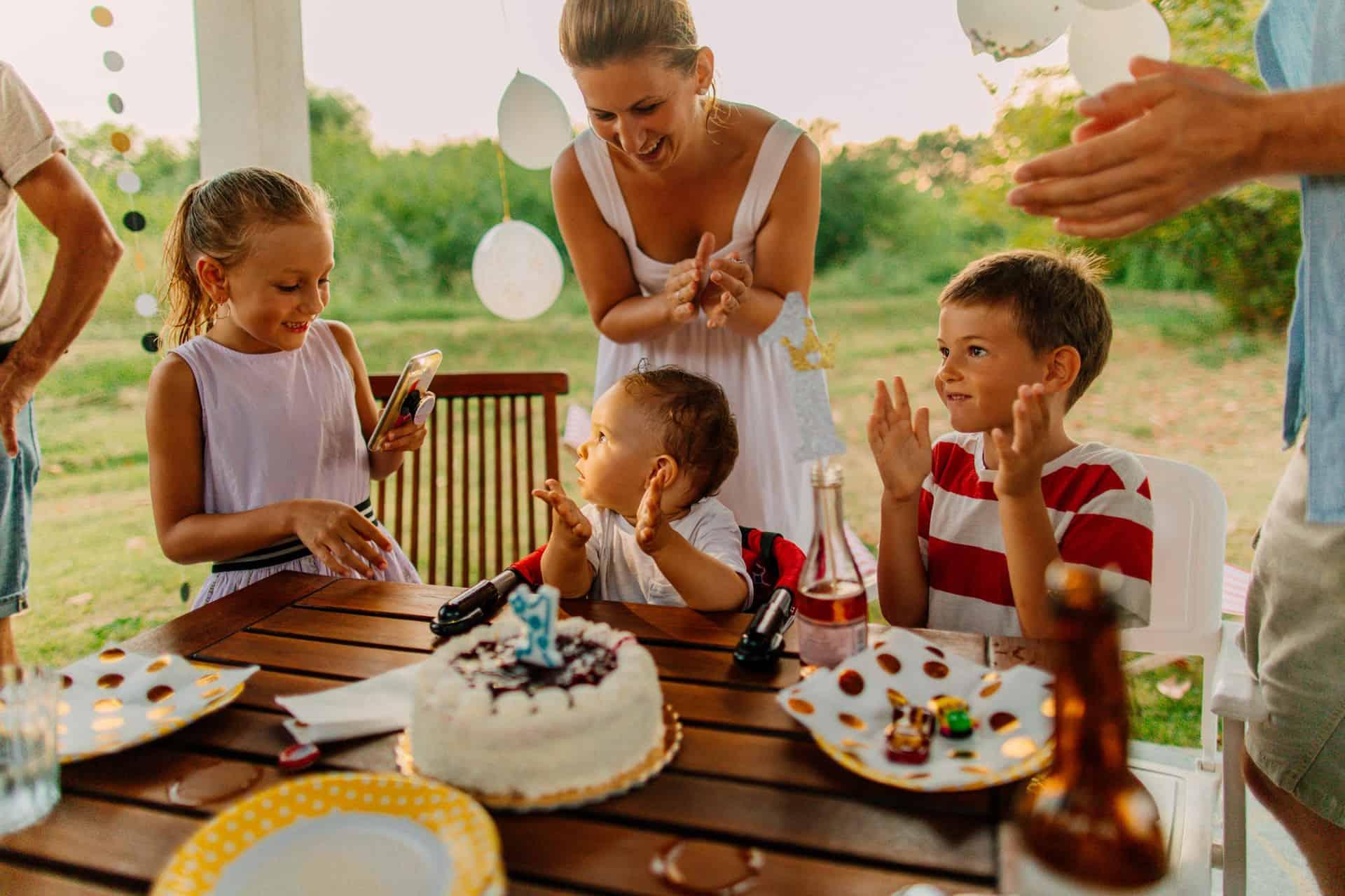 5 tips voor een geslaagd eerste verjaardagsfeest