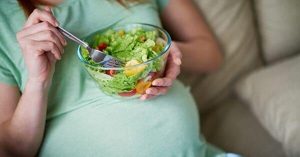 wel en niet eten tijdens de zwangerschap