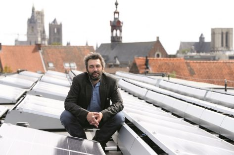 John vandaele van energent vertelt over groene energie