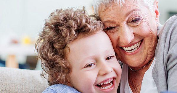 zorgen met liefde voor de kleinkinderen