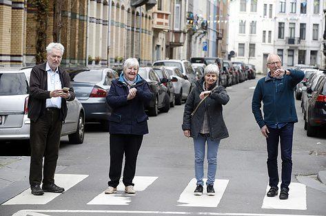 'Grootouders voor het klimaat' strijden voor groene toekomst kleinkinderen