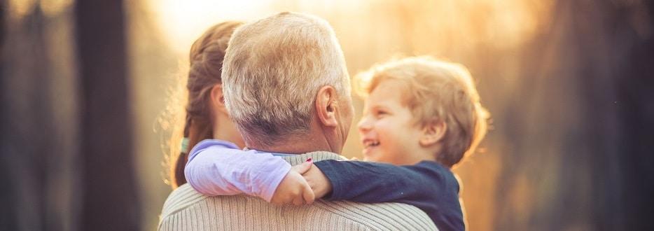 grootouders meer tijd voor kleinkinderen