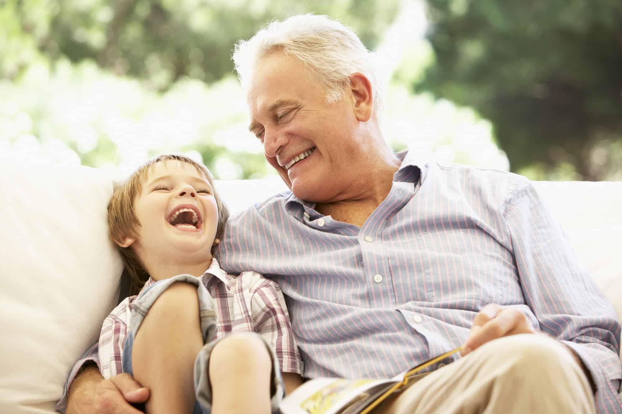 waarom kleinkinderen zoveel van hun grootouders houden
