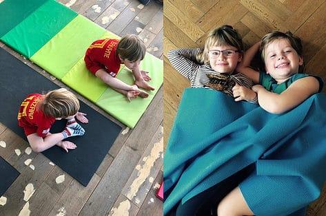 Kinderyoga zorgt voor wat zen in je gezin