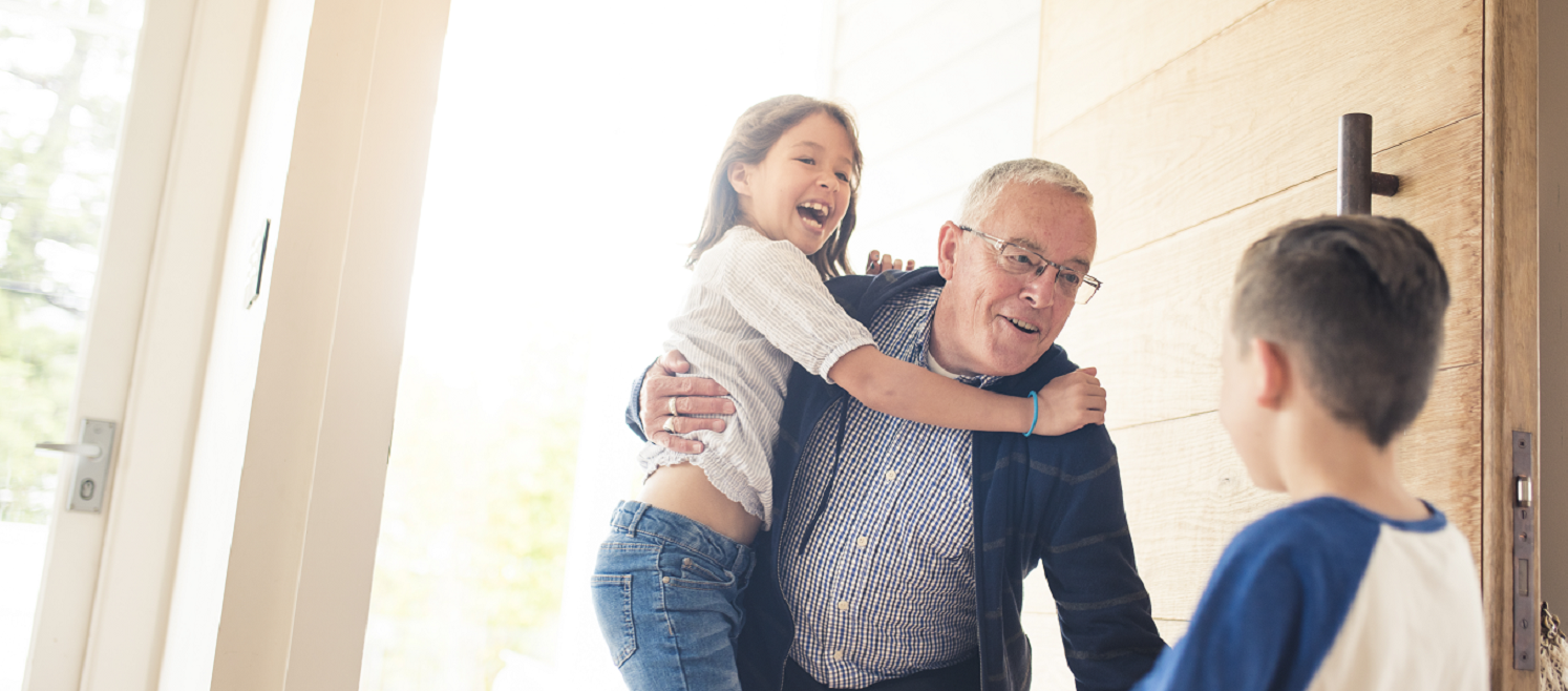 waarom kleinkinderen je gelukkig maken