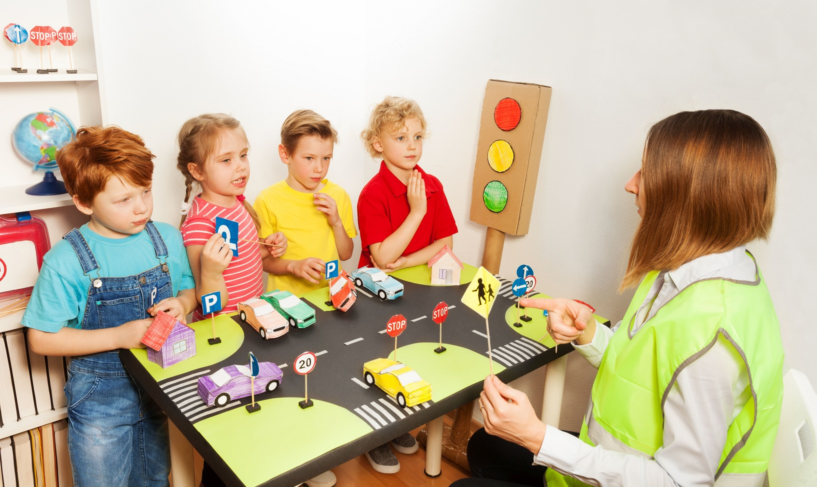 veilig in het verkeer, verkeersverontreiniging, kindnorm verkeer