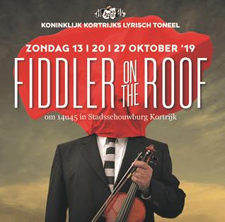 fiddler on the roof korting gezinsbond