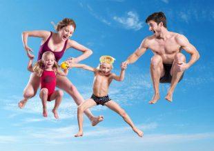 lago zwembad doen met kinderen