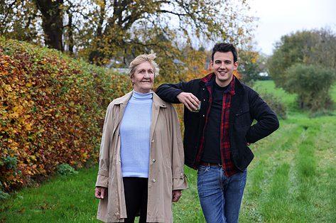 Loïc Van Impe en oma Francine delen dezelfde passie voor koken