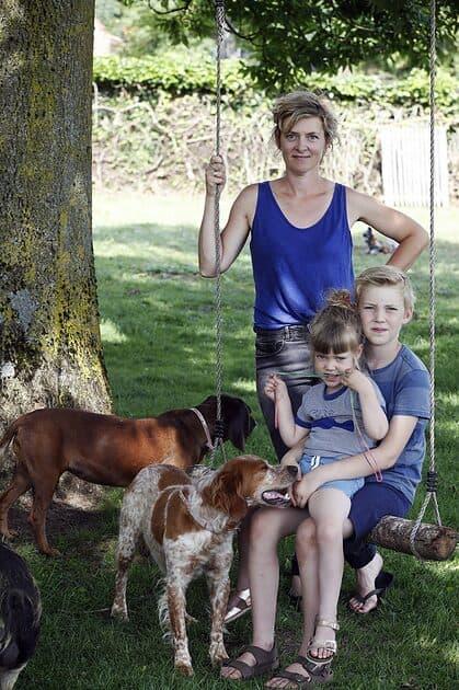 Madame Zsazsa over mama zijn van 3 kinderen: ʻIk hou ervan om al mijn kinderen rond mij te hebben.'