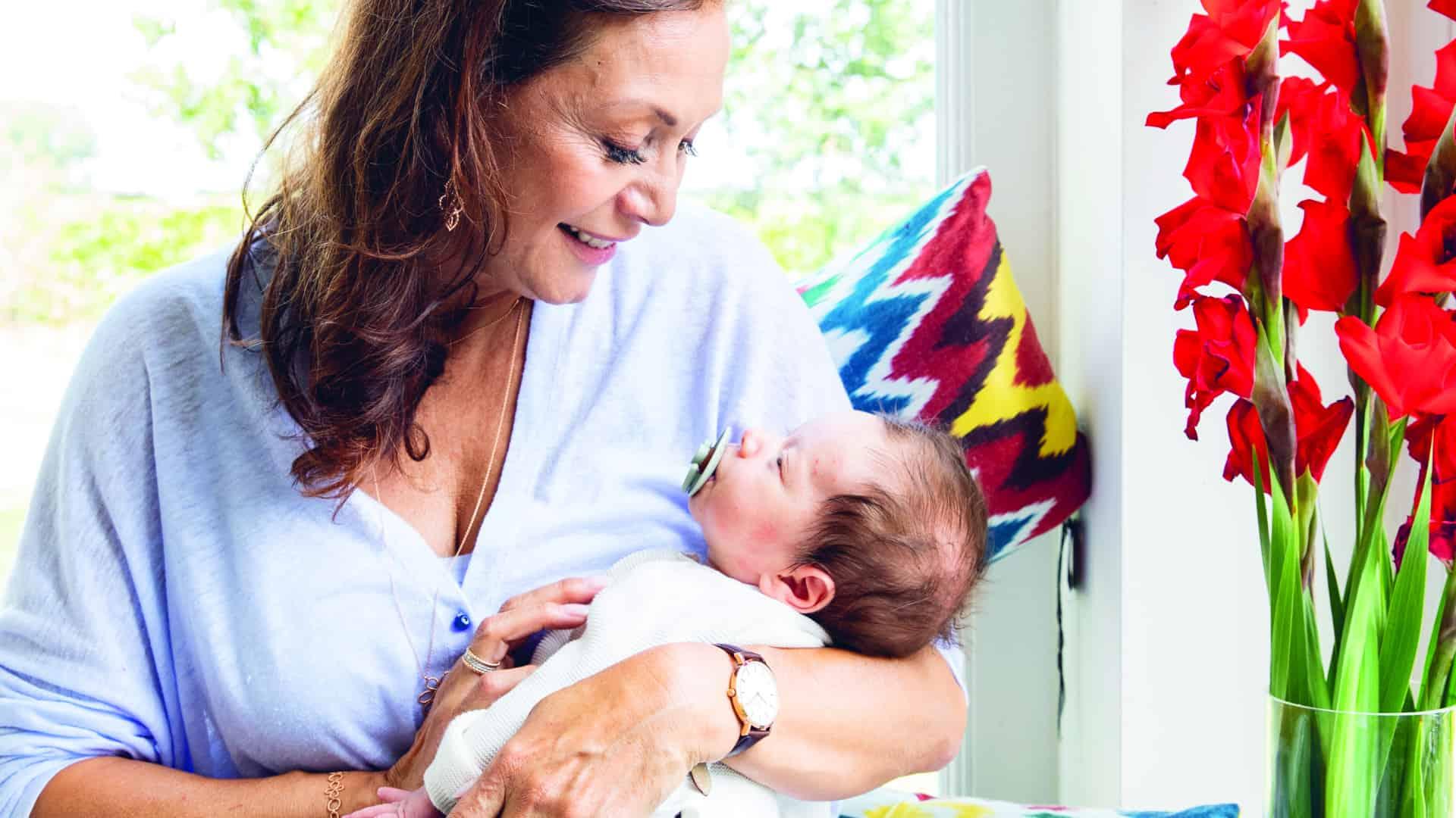 Nana Martine Prenen over haar kleinzoon: 'Ik ga zo vaak mogelijk op bezoek'