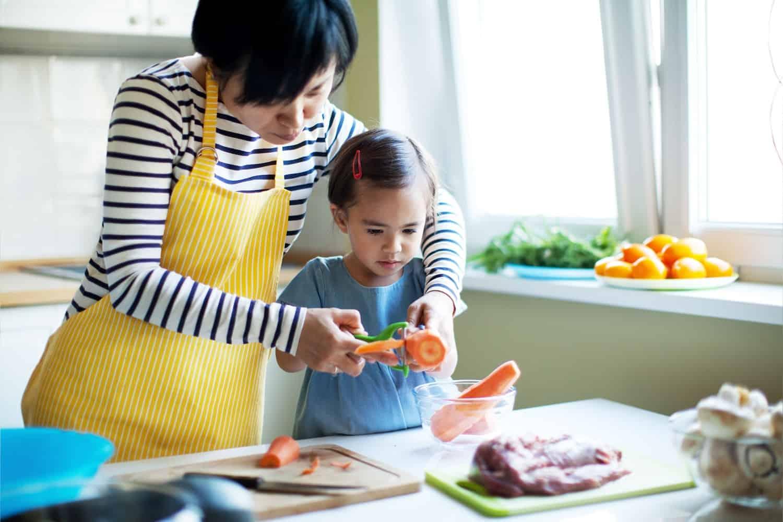 nieuwe voedingsdriehoek, gezond koken voor gezin,