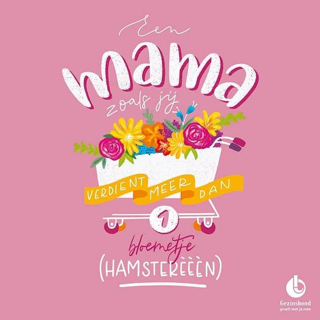 kaartje mama gratis downloaden