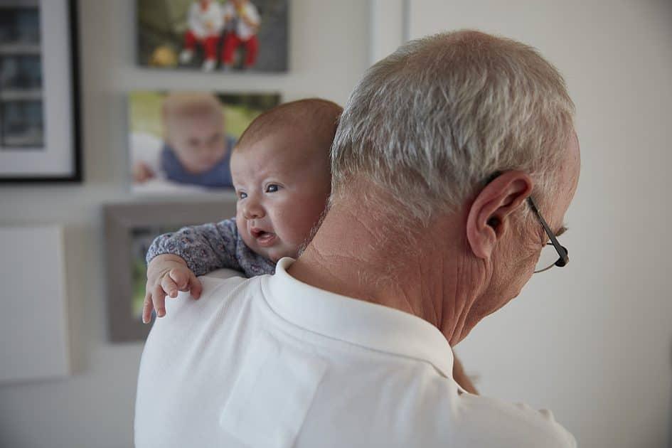 zorgen voor kleinkinderen