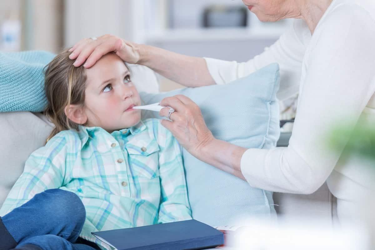 opvang ziek kleinkind