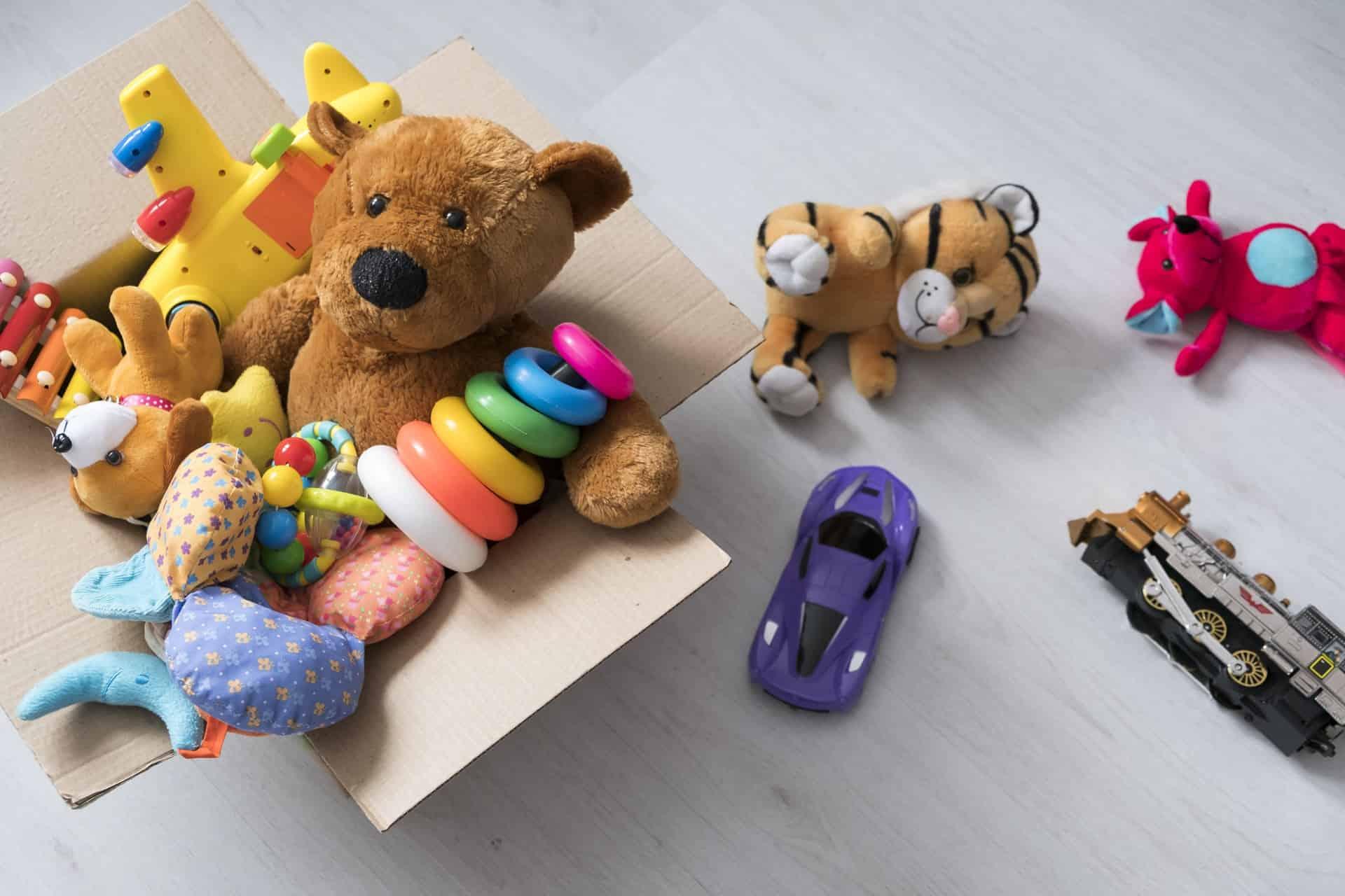 Wat doen met oud speelgoed? (Niet weggooien!)