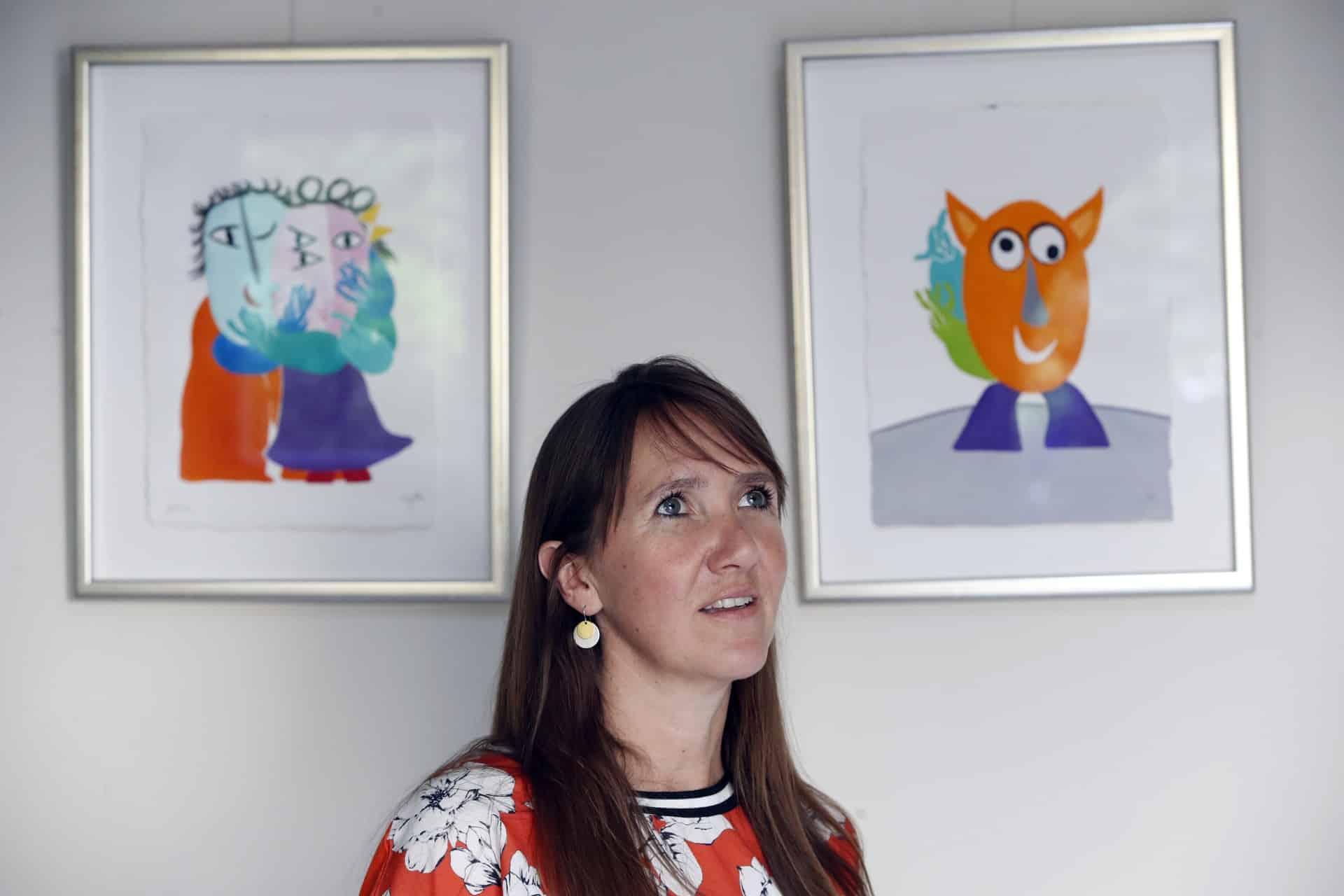 Kinderpsycholoog Jasmine Luycx: 'Spreek over je overleden kind, want ook dat is een deel van jullie verhaal'