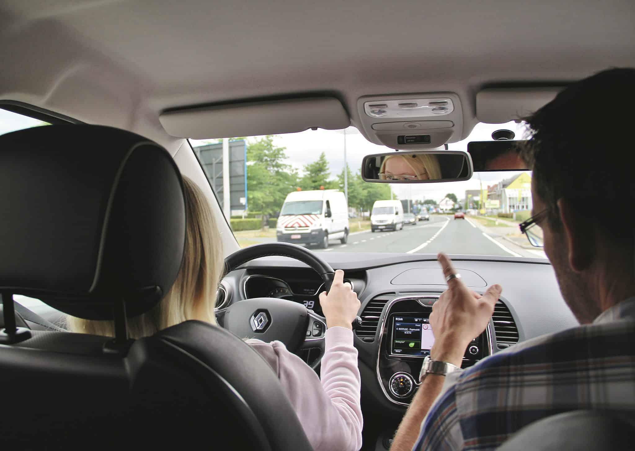 vrije begeleiding leren rijden