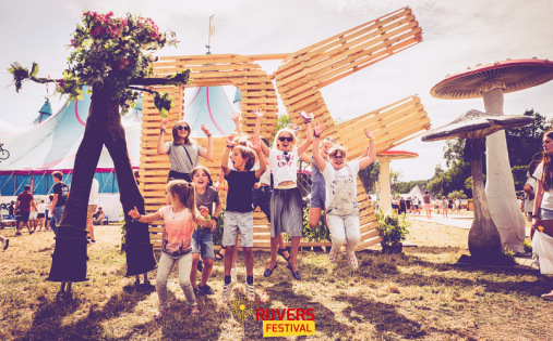rijvers festival korting kinderen