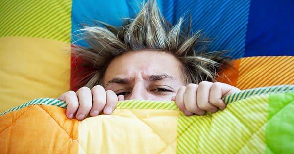 tiener niet wakker