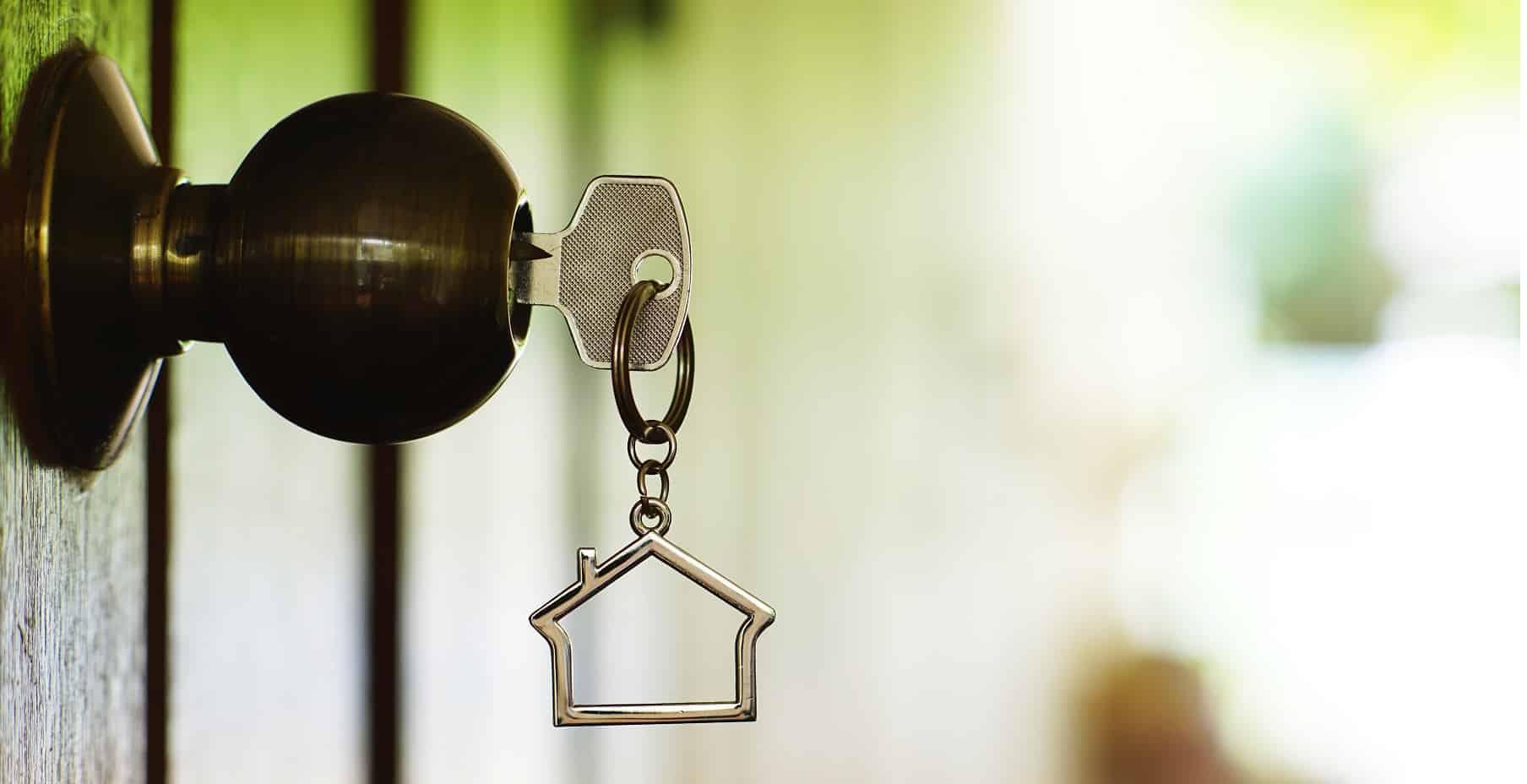 sleutel aan de poetsvrouw