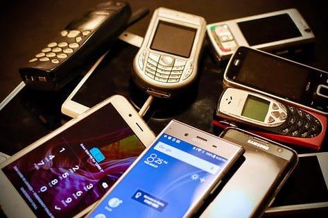 Laat je oude smartphones recycleren