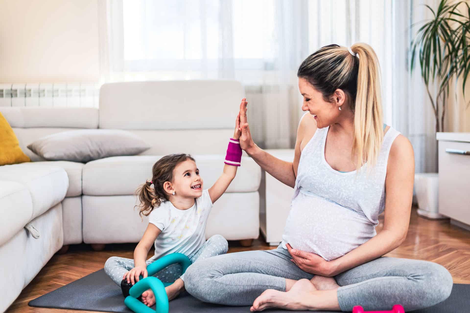 Sport voor zwangere vrouwen: 5 toppers