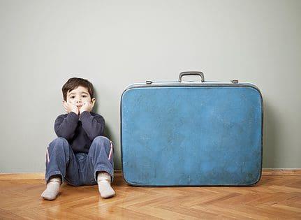 steun voor kind dat gaat scheiden