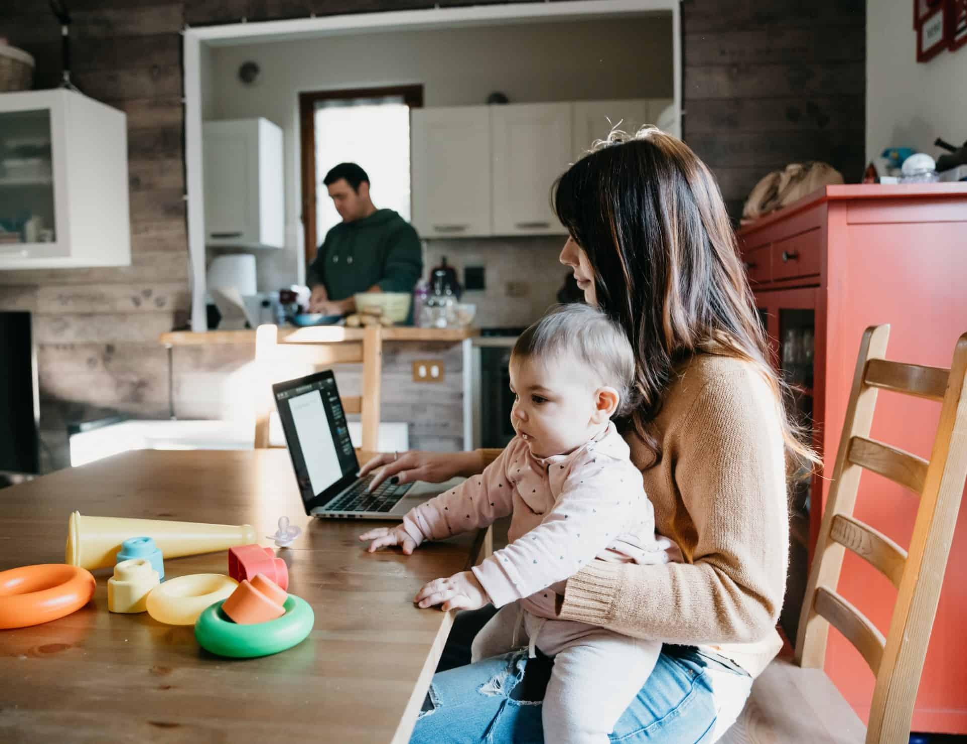 Thuiswerken met baby's, peuters en kleuters: onze tips