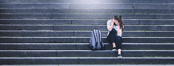 minder stress bij tiener