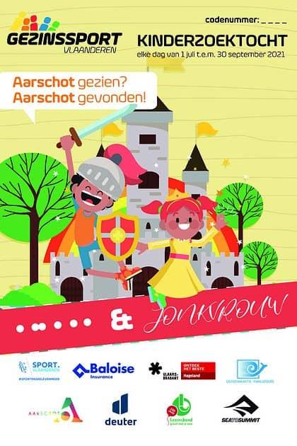 Tip voor een uitstap met het gezin: de zomerzoektochten in Aarschot