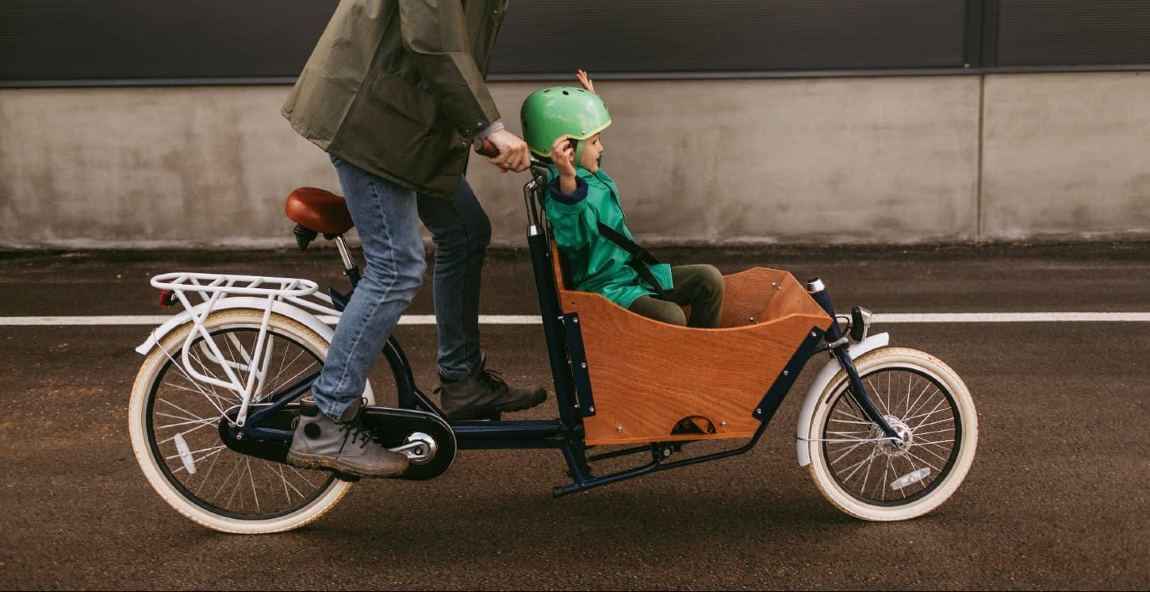 veilig met je kind op de fiets